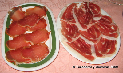 jamon y lomo ibericos