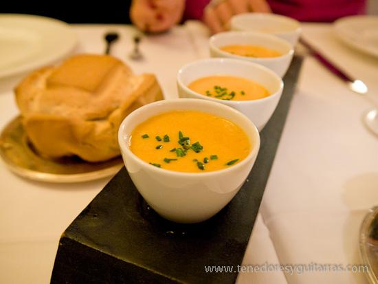 Comer en Salamanca - Mousse de fabes